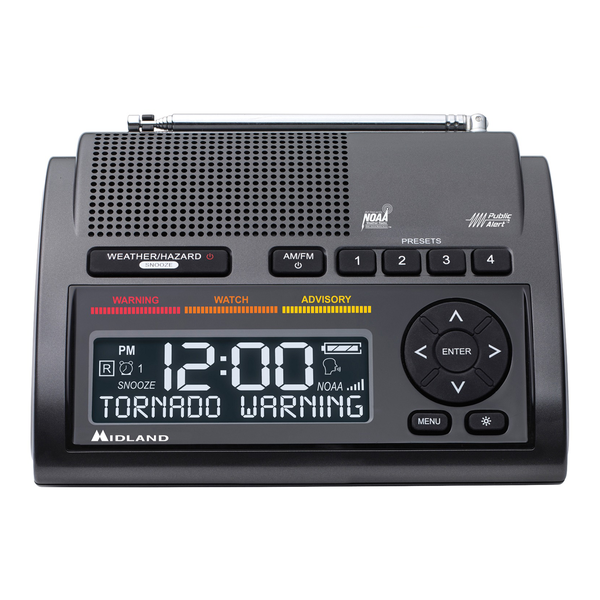 Midland Deluxe NOAA Weather Radio