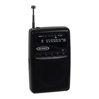Jensen Portable AM/FM Pocket Radio