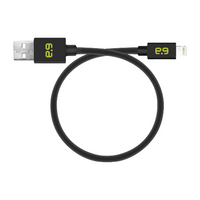 PureGear 9-Inch Lightning to USB Charge and Sync Cable: Black
