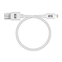 PureGear 9-Inch Lightning to USB Charge and Sync Cable: White