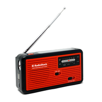 AM/FM Weather Emergency Crank Radio