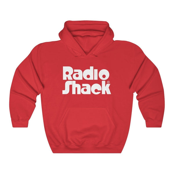 Retro RadioShack Hooded Sweatshirt with Stacked Logo