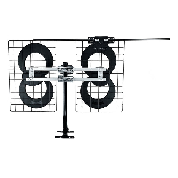 Antennas Direct ClearStream 4V Indoor/Outdoor HDTV Antenna with Mount (70+ Mile)