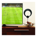 Antennas Direct ClearStream Eclipse Amplified Ultra-Thin Indoor HDTV Antenna with Sure Grip (50+ Mile Range)
