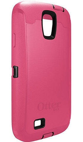 OtterBox Defender Cell Phone Case Samsung Galaxy S4 (Pink/Black)