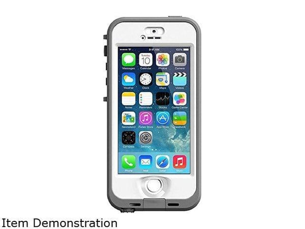 Lifeproof Nuud Cell Phone Case Apple iPhone 5S (White)