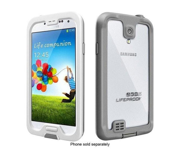 Lifeproof Cell Phone Case Samsung Galaxy S4 (Nuud White)