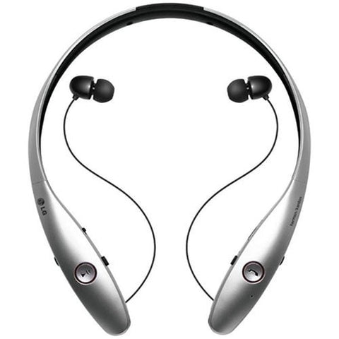 LG Tone INFINIM Bluetooth Headphones (Silver)
