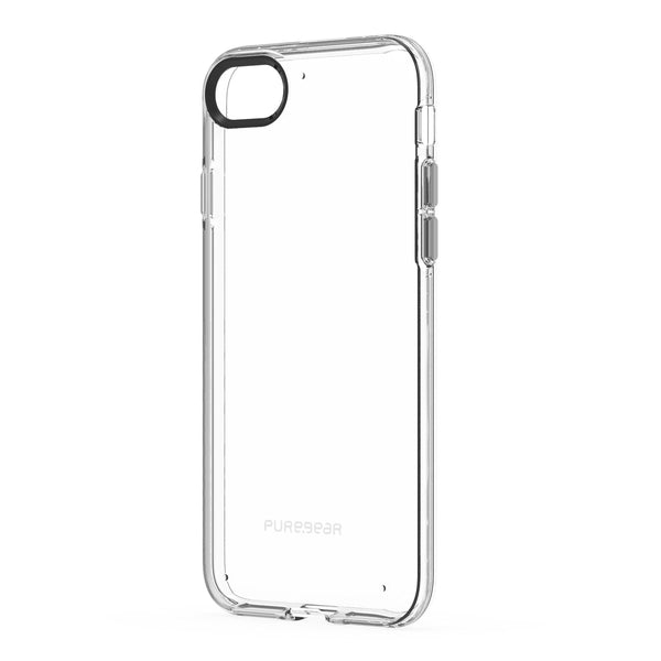 the best attitude f98f0 26324 PureGear Slim Shell Case for iPhone 8/7 - Clear