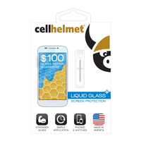 cellhelmet Liquid Glass Screen Protection: Phone (0.6 Ml) /$100