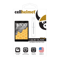 cellhelmet Liquid Glass Screen Protection: Tablet (1.5 Ml) /$300