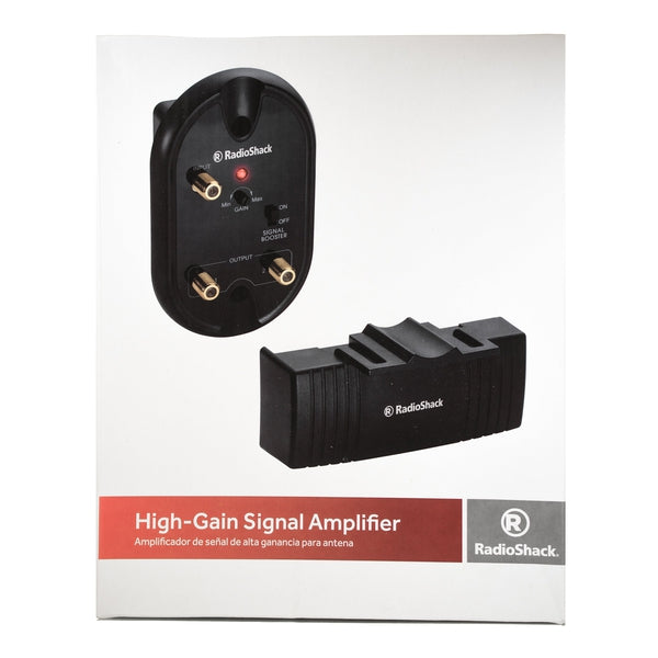 Antenna-Mounted High-Gain Signal Amplifier