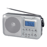 Supersonic Portable 4-Band AM/FM/SW Radio