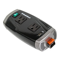350 Watt High-Power Inverter with 2 Grounded Outlets and USB