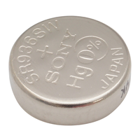 Sony 394 1.55V Silver-Oxide Button Cell Battery: 5-pack