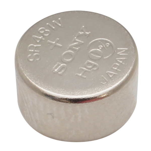 393 1.55V Silver-Oxide Button Cell Battery - Sony, 5-Pack