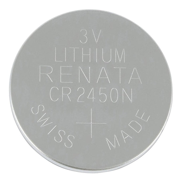 CR2450 3V Lithium Button Cell Battery (3-Pack)