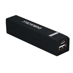 Duracell 2600 mAh Powerbank (Black)
