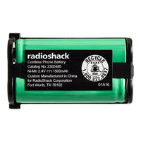 RadioShack 2.4V/1500mAh NiMH Cordless Phone Battery Panasonic HHR-P513
