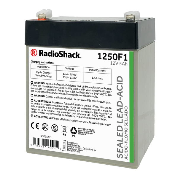 12v 5ah Battery >> 12v 5ah Sealed Lead Acid Sla Rechargeable Battery
