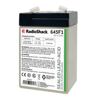 6V 4.5Ah Sealed Lead-Acid (SLA) Rechargeable Battery