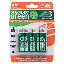Dantona Ultralast AA Ni-MH Batteries (4-Pack)