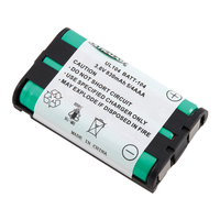 Ultralast BATT-104 3.6V NiMH 830mAh Cordless Phone Battery