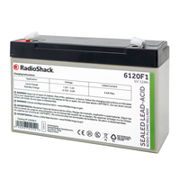 6V 12Ah Sealed Lead-Acid (SLA) Rechargeable Battery