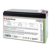 12V 9Ah Sealed Lead-Acid (SLA) Rechargeable Battery