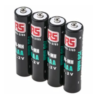 AAA 1.2V Ni-MH Rechargeable Batteries, 750 mAh (4-Pack)