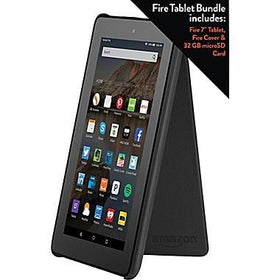 Amazon Fire 7 Inch Bundle Wi-Fi 8 GB (Black)
