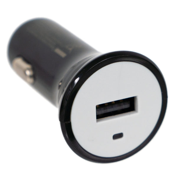 5V/1A USB Car Charger - Black