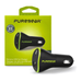 PureGear 18W Extreme USB Car Charger with Quick Charge 3.0 - Black