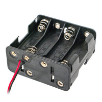8 AA Battery Holder with Wire Leads