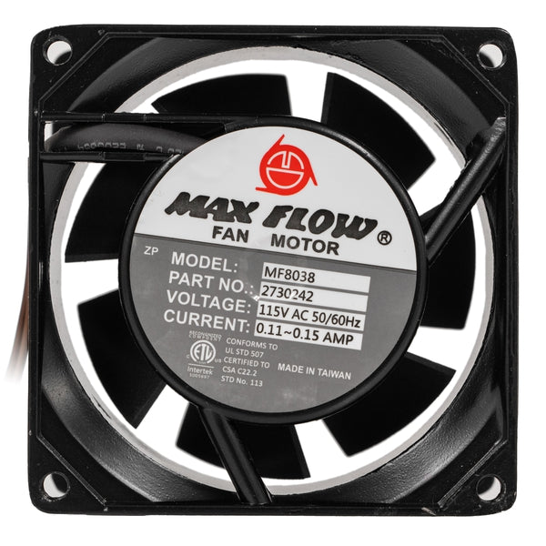 3-Inch 120VAC Brushless Cooling Fan on