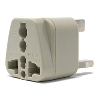 Voltage Valet Grounded AC Power Plug Adapter to United Kingdom
