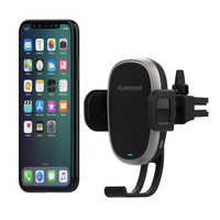 PureGear AutoGrip Wireless Qi-Certified Charger Car Mount for Mobile Devices: Vent