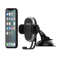 PureGear AutoGrip Wireless Qi-Certified Charger Car Mount for Mobile Devices: Dash