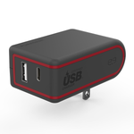 PureGear 57W Dual USB-A & USB Type-C AC Wall Charger with USB-PD