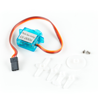 OSEPP Plastic Gear Analog Servo (Medium) - 180° Rotation