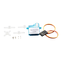 OSEPP Plastic Gear Analog Servo (Small) - 90° Rotation