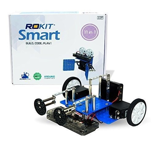 Robolink Rokit Smart 11-in-1 Programmable Robotic Kit