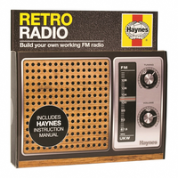 Haynes Build Your Own Retro FM Radio Electronics Kit