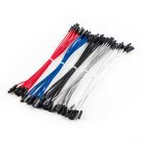 "OSEPP 6"" Premium Female-to-Female Jumper Cables (50-Pack)"