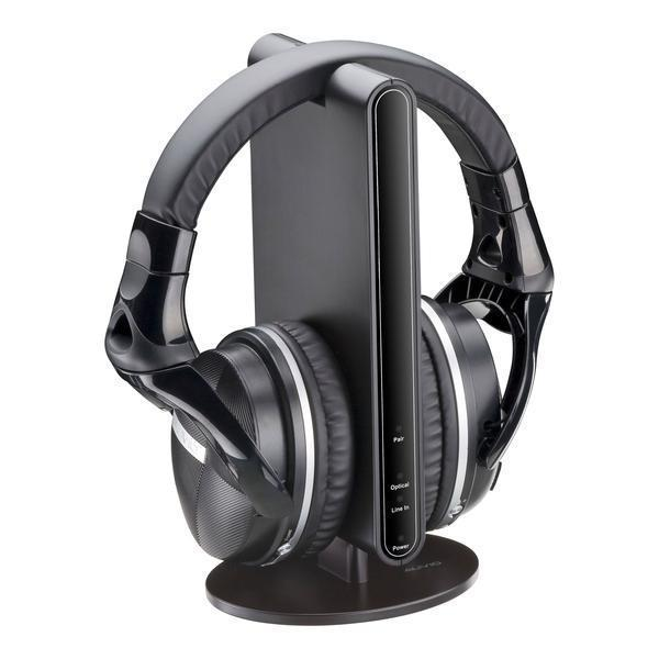 Wireless Stereo Headphones with Docking Station