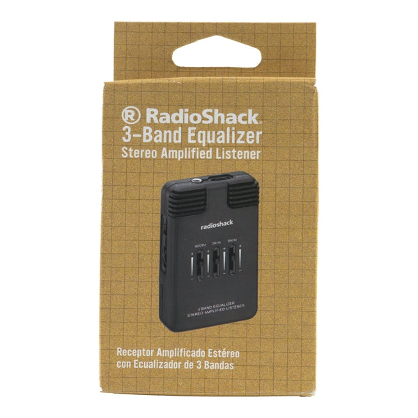 3-Band Amplified Stereo Listener with Equalizer