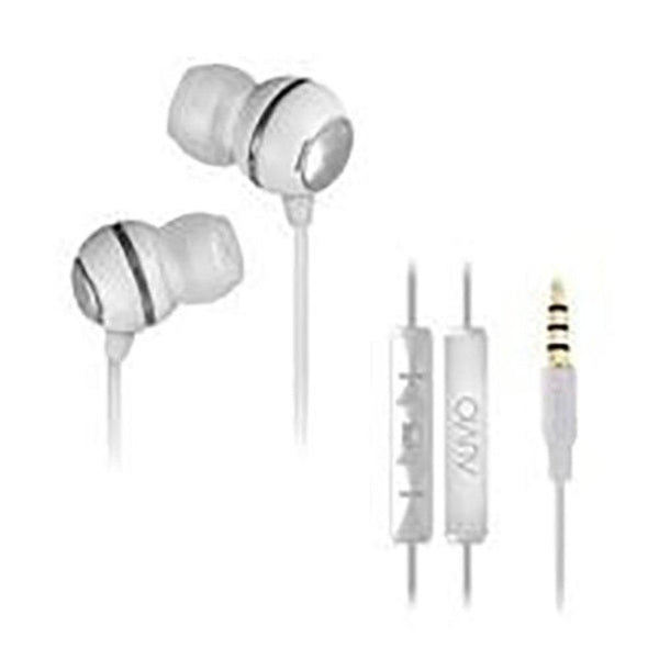 Auvio Earbuds with Apple Remote & Microphone (White)