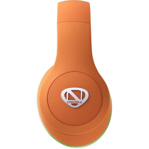 Ncredible Kids Bluetooth Headphones (Orange)