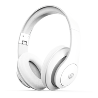 NCredible1 Wireless Bluetooth Headphones: White