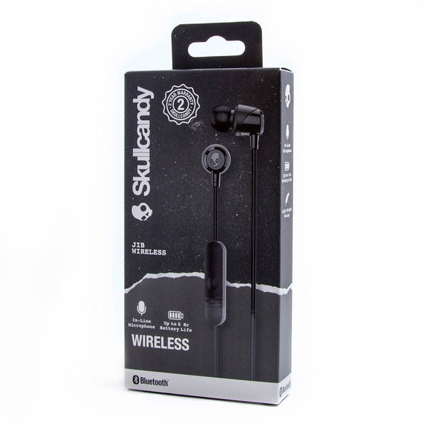 Skullcandy Jib Wireless Bluetooth Headset With Mic - Black